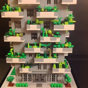 Lego Bosco Verticale base View
