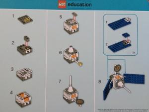 Lego Satellite Instructions